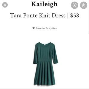 EUC Kaileigh Tara Ponte Knit Dress